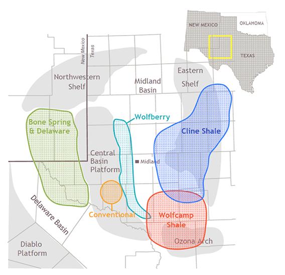 Cline Shale Map Canary Llc