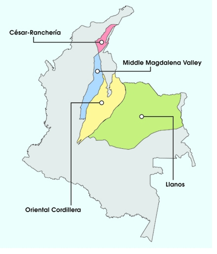 Colombian shale resources could exceed 6 billion barrels.